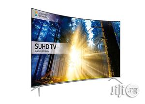 """55"""" Ultra Slim Curved Samsung SUHD 4K Quantum Dot HDR Smart TV 