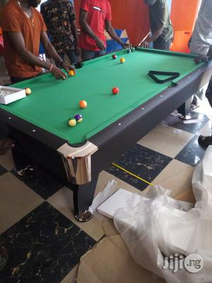 7ft Snooker Pool Table Green Felt   Sports Equipment for sale in Lagos State, Surulere