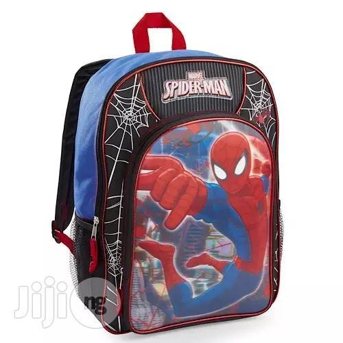 "Archive: Marvel Marvel Spiderman School Bag Kids 16"" Full Size Backpack"