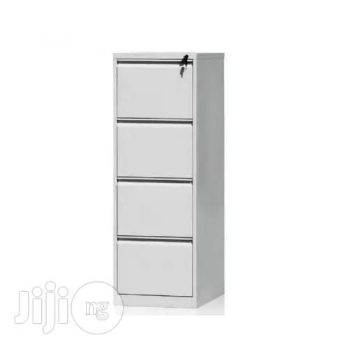 Archive: 4-Drawer Metal Office Filing Cabinet