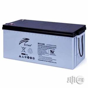 12v 200ah Ritar Battery   Electrical Equipment for sale in Lagos State, Amuwo-Odofin