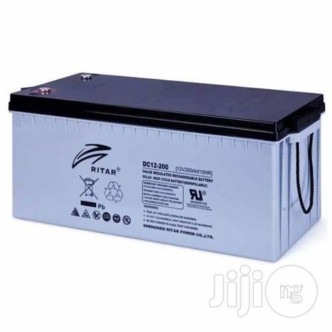 12v 200ah Ritar Battery