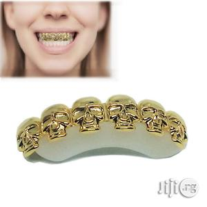 Hip-Hop Ghost Plated Teeth Grills -Gold   Jewelry for sale in Lagos State, Ikeja