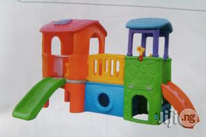 2 In 1 Playground House With Double Slide | Toys for sale in Lagos State