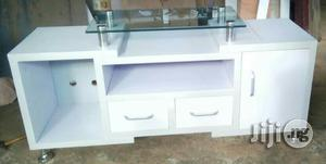 Tv Stand With Glass Top | Furniture for sale in Lagos State, Ikeja