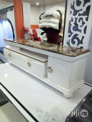Adjustable Marble TV Stand   Furniture for sale in Lagos State, Ojo
