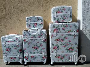 White Trolley Luggage   Bags for sale in Lagos State, Ikeja