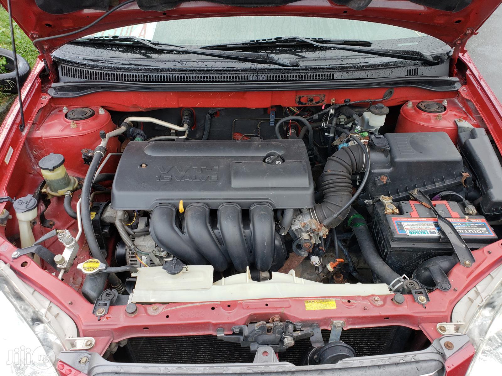Toyota Corolla 2004 Red | Cars for sale in Ikeja, Lagos State, Nigeria