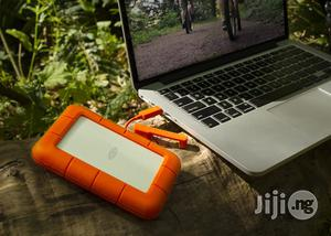 Lacie Rugged 2TB Thunderbolt And USB 3.0 Portable Hard Drive | Computer Hardware for sale in Lagos State, Ikeja