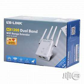 LB-LINK AC1200 Dual Band Wifi Range Exterder   Networking Products for sale in Lagos State, Ikeja