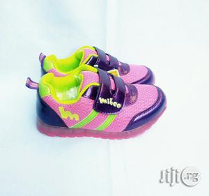 Pink and Purple Canvas   Children's Shoes for sale in Lagos State, Lagos Island (Eko)