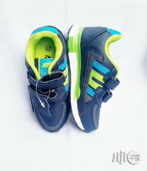 Blue and Lemon Sneakers | Children's Shoes for sale in Lagos State, Lagos Island (Eko)