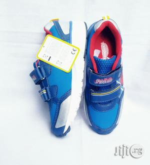 Blue Spiderman Canvas | Children's Shoes for sale in Lagos State, Lagos Island (Eko)