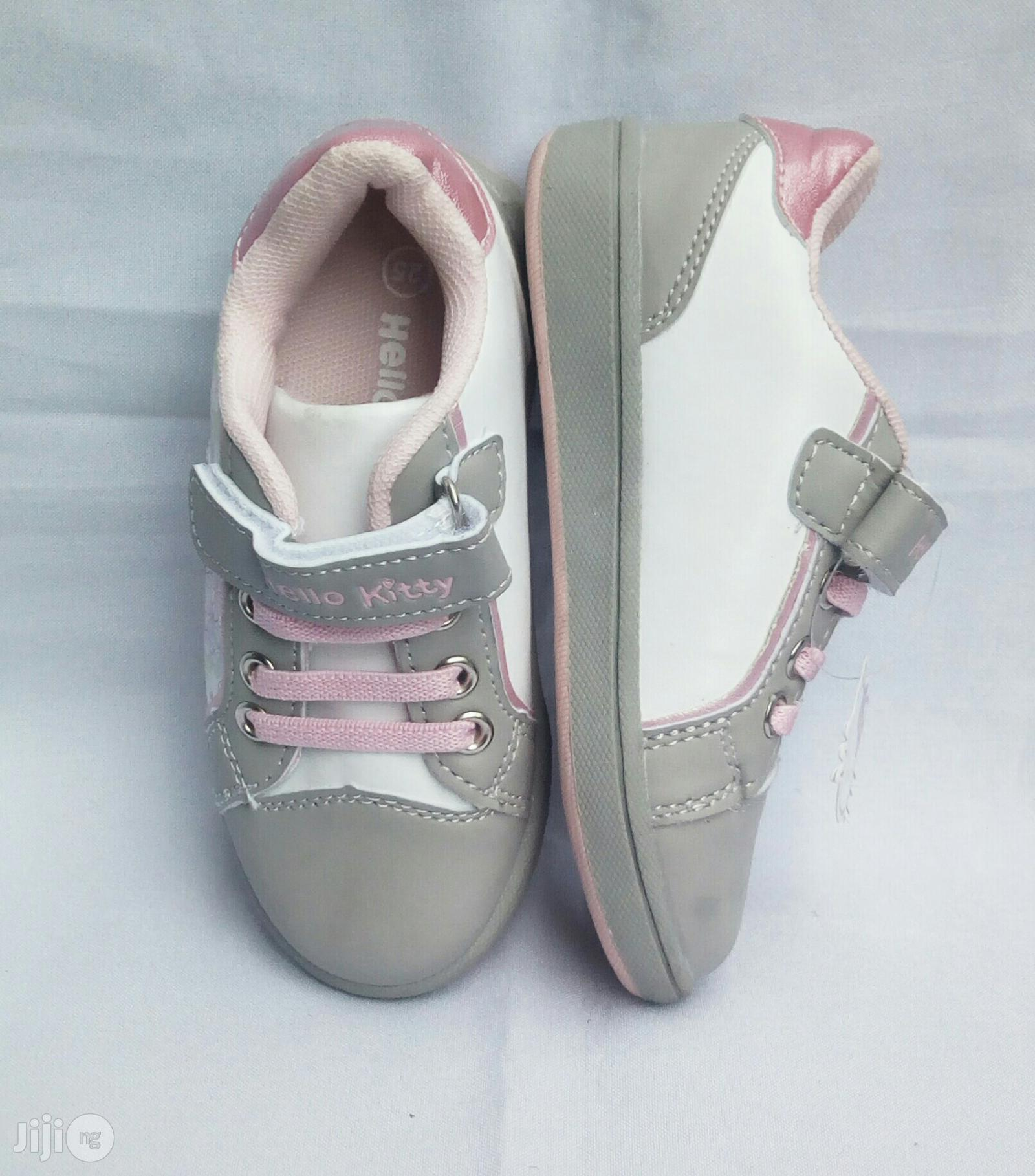Ash and Pink Canvas for Girls