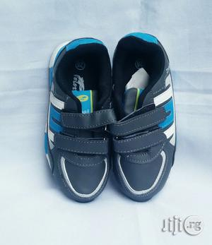 Ash and Blue Canvas Sneakers | Children's Shoes for sale in Lagos State, Lagos Island (Eko)