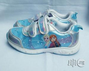 Frozen Blue Canvas | Children's Shoes for sale in Lagos State, Lagos Island (Eko)