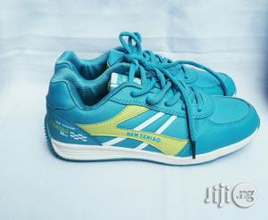 Blue Canvas Sneakers | Children's Shoes for sale in Lagos State, Lagos Island (Eko)