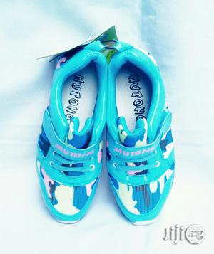 Blue Patterned Sneakers | Children's Shoes for sale in Lagos State, Lagos Island (Eko)