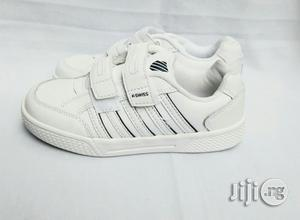 White Canvas for Boys and Girls   Children's Shoes for sale in Lagos State, Lagos Island (Eko)