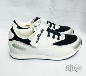 Silver ,White and Black Canvas | Children's Shoes for sale in Lagos State, Lagos Island (Eko)