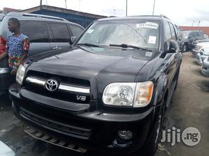 Toyota Sequoia 2007 Black   Cars for sale in Lagos State, Apapa