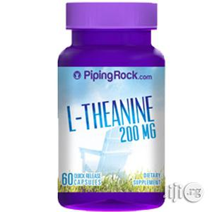 L-Theanine for Mood, Anxiety, Sleep, Focus and Concentration | Vitamins & Supplements for sale in Lagos State, Victoria Island