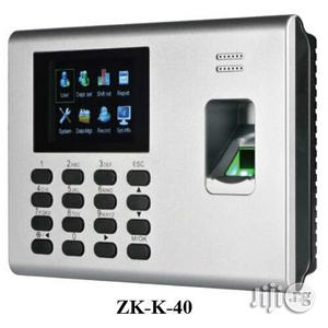 Zkteco K40 Fingerprint Time And Attendance System | Safetywear & Equipment for sale in Rivers State, Port-Harcourt