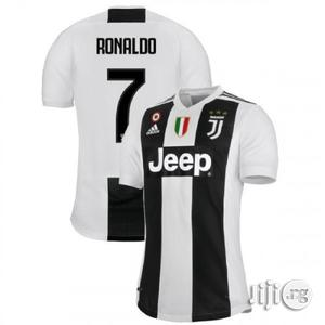 Juventus Home Jersey 2018/2019 Available At All Sizes   Clothing for sale in Rivers State, Port-Harcourt