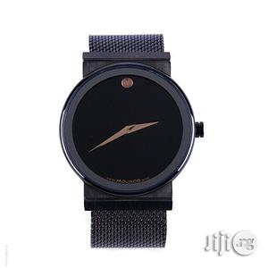 Movado Bold Mesh Strap Band Watch - Black | Watches for sale in Lagos State, Oshodi