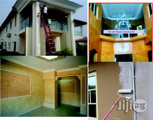 Painting And Pop Screeding/3d Wall Paper Installation   Building & Trades Services for sale in Abuja (FCT) State, Gwarinpa