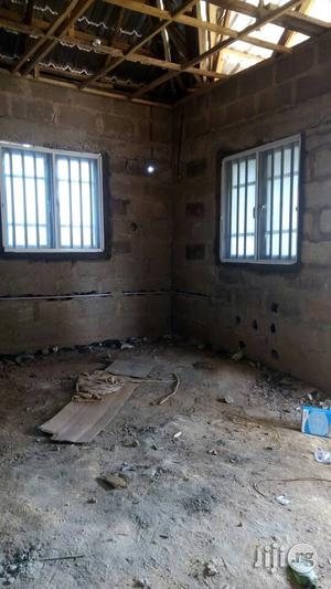 Casement Window With 12mm Iron Aluminium Burglary With Net. | Windows for sale in Lagos State, Agege