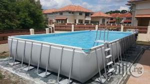 18ft by 9ft Above Ground Intex Pool   Sports Equipment for sale in Rivers State, Port-Harcourt