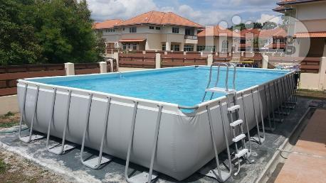 18ft by 9ft Above Ground Intex Pool