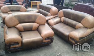 Leather Sofa 7 Seater   Furniture for sale in Lagos State, Lekki