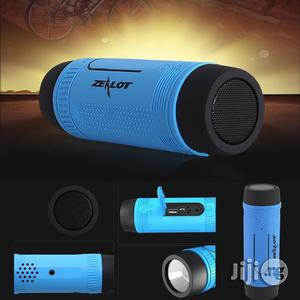 Zealot S1 Bluetooth MP3 Speaker With Torchlight & Power Bank Functions | Audio & Music Equipment for sale in Lagos State, Ikeja