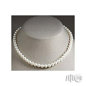 White Pearl Bead Necklace   Jewelry for sale in Lagos State, Oshodi