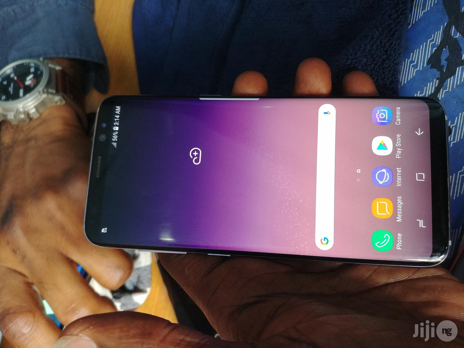 Samsung Galaxy S8 64 GB Blue   Mobile Phones for sale in Ikeja, Lagos State, Nigeria