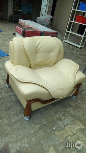 Leather Sofa Chair. | Furniture for sale in Lagos State, Lagos Island (Eko)