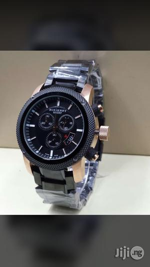 Burberry Sport Black Crystal Chain Chronograph Watch | Watches for sale in Lagos State, Surulere