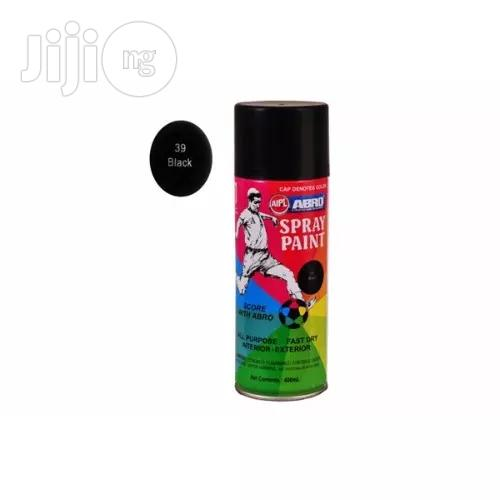 Abro Spray Paint - Black
