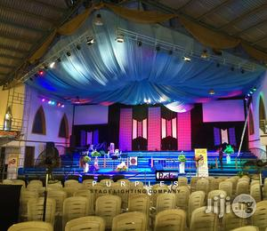 Church Stage Lighting, Hall Lighting, Event Lighting, Theatre Stage Li | DJ & Entertainment Services for sale in Kwara State, Ilorin South