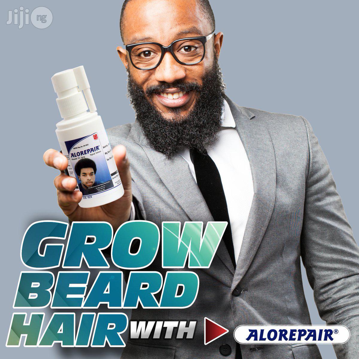 Alorepair Minoxidil - Hair, Beard Chest Growth Oil Spray
