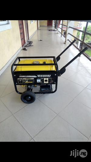 Neatly Used Sumec Firman SPG 3000E2 Original Big Copper Coil Generator | Electrical Equipment for sale in Rivers State, Port-Harcourt
