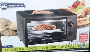 11L Electric Toaster Oven With Top Grill | Kitchen Appliances for sale in Lagos State, Lagos Island (Eko)
