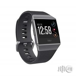 Fitbit Ionic Gps Smart Fitness Watch, Charcoal/Smoke Gray, | Smart Watches & Trackers for sale in Lagos State, Ikeja