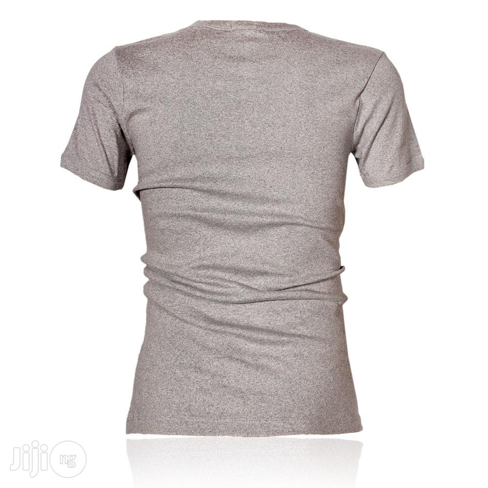 Police B.358 Large Grey Printed Short Sleeve T-shirt   Clothing for sale in Surulere, Lagos State, Nigeria