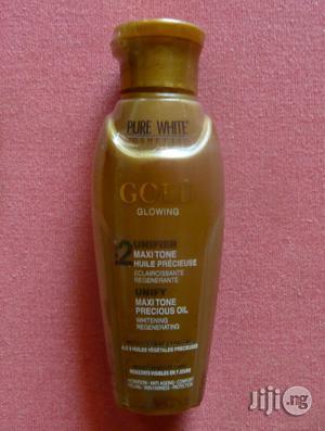 Pure White Gold Glowing Maxitone Precious Oil, 100ml | Skin Care for sale in Abuja (FCT) State, Gwarinpa