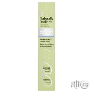 Naturally Radiant Brightening Eye Cream for Dark Circles and Puffiness   Skin Care for sale in Lagos State, Victoria Island