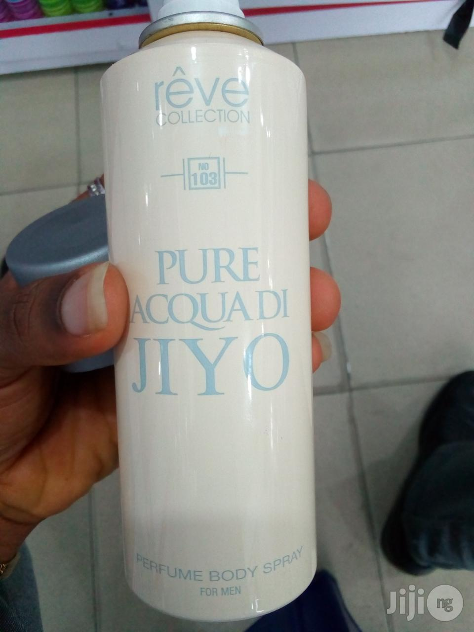 Reve Collection (Pure Aqua Di Jiyo Spray For Men)   Fragrance for sale in Port-Harcourt, Rivers State, Nigeria