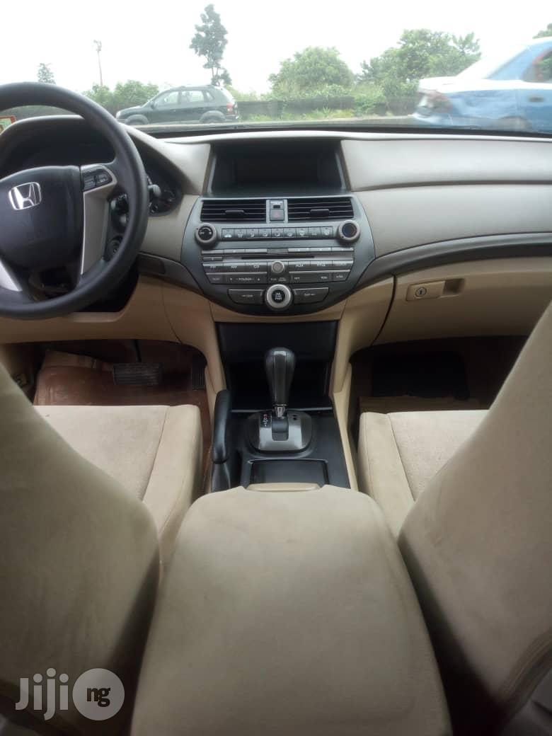 Honda Accord 2010 Sedan EX Automatic Black | Cars for sale in Port-Harcourt, Rivers State, Nigeria